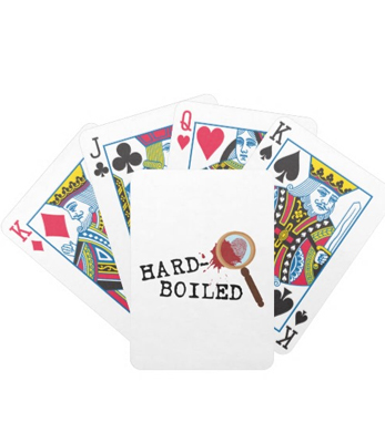 Hardboiled Mystery Bicycle Playing Cards