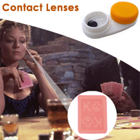 Poker Cheat Contact Lense